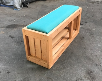 S Shoe Storage  Entryway Bench Bed End
