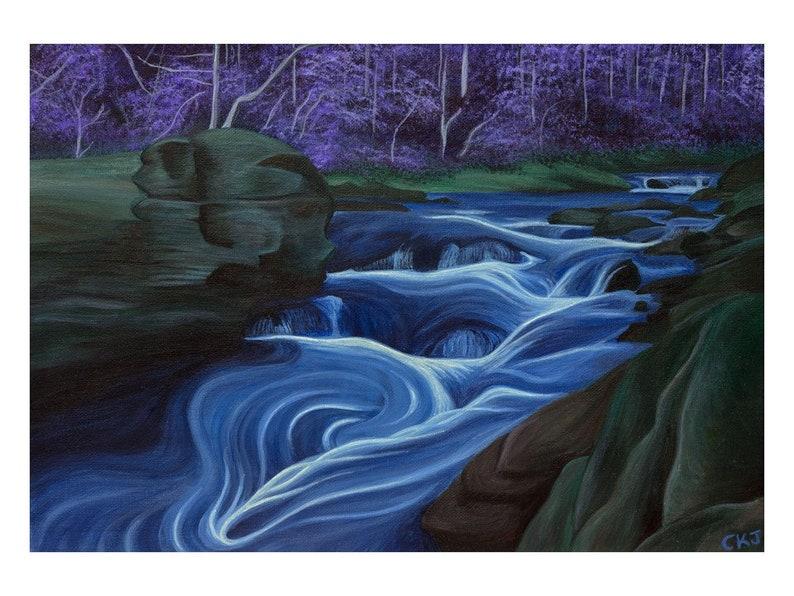 Corkscrew Rapid Chattooga River  fine art print image 0