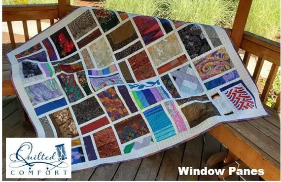 DEPOSIT ONLY Bereavement Quilt made from Loved Ones clothing