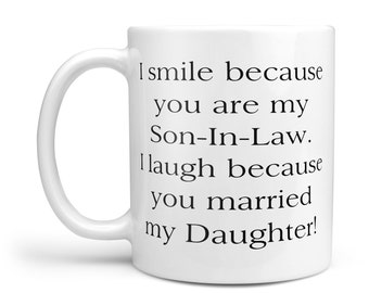 Daughter In Law Gift Son In Law Gift Mugs With Sayings Etsy