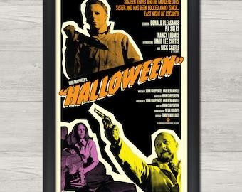 A3 A1 A2 Sleepy Hollow Halloween Art Vintage Movie Poster A4