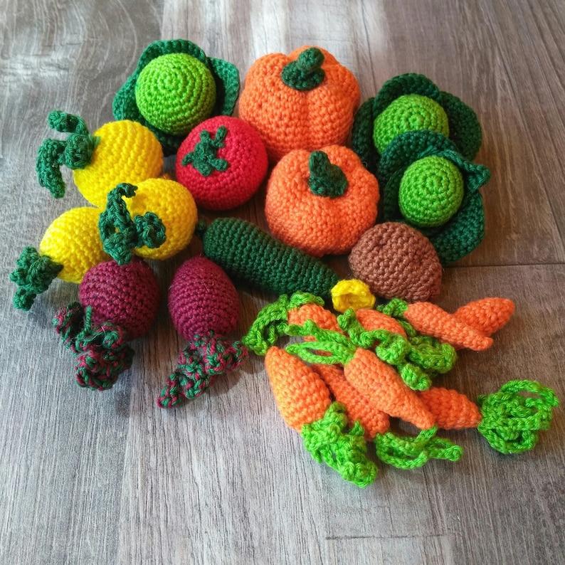 Amigurumi Food: Veggies Amigurumi Food Free Crochet Pattern | 794x794
