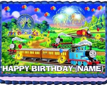Edible Thomas Train Etsy