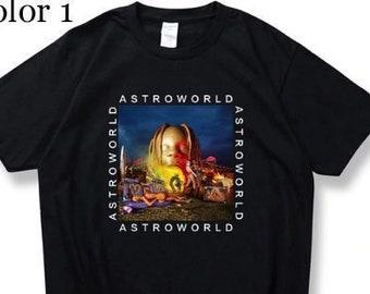 d07cc0041ba Travis Scott Astroworld Shirt Tour I Went To Astro world Album Shirt Tee  Album Artist Music Merch Custom Print