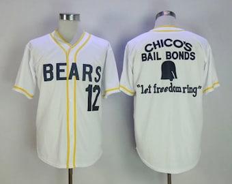 e34ea0a47 Bad News Bears Tanner Boyle Kelly Leak Jersey Baseball Halloween Costume  Shirt Bail Bonds Original Movie Player Gift Idea Christmas