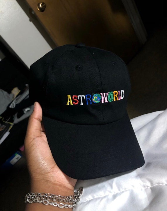 f9f98b8cbc089 Travis Scott Astroworld Hat Embroidered Tour I Went To Astro