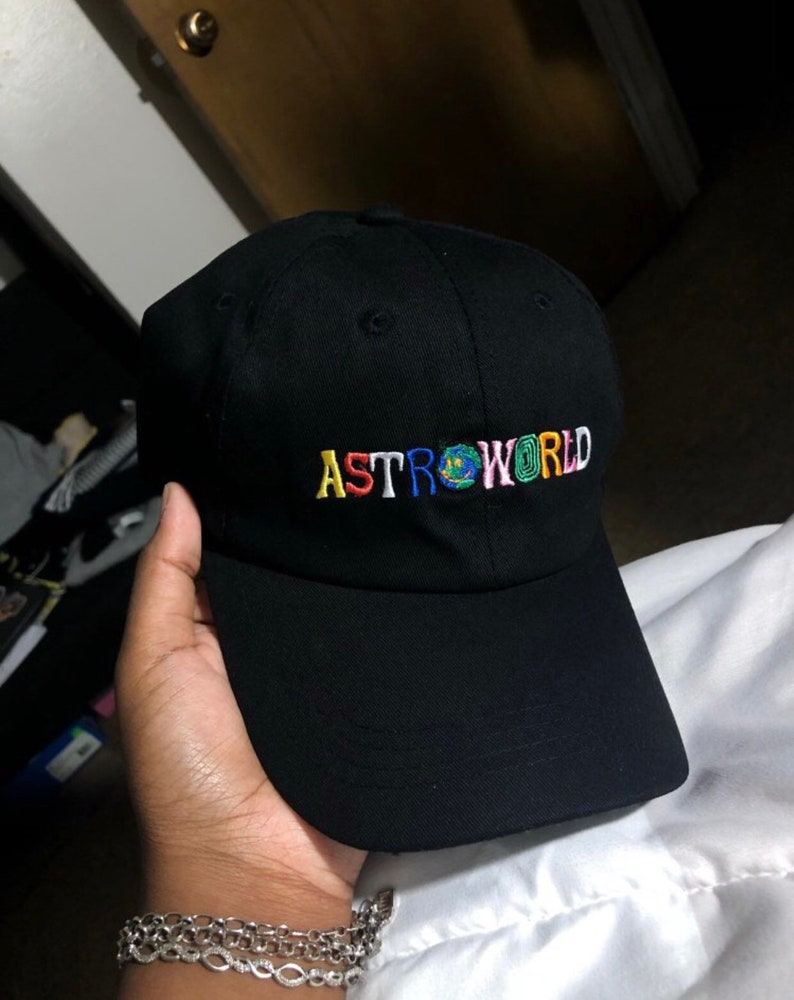 Travis Scott Astroworld Hat Embroidered Tour I Went To Astro  0625c641a7b