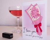 Funny Greeting Card   Sassy Valentine Card   I Love You   For Her   For Him