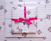 """Wrapping Paper """"Winter Florals"""" 