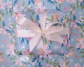 "Wrapping Paper ""Summer Florals"" | elegant illustration | Lotti Groll Studio"