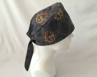 ddc06e2f1526f Mens Womes Harry Potter Hogwarts School of Witchcraft and Wizardry Surgical  Cap