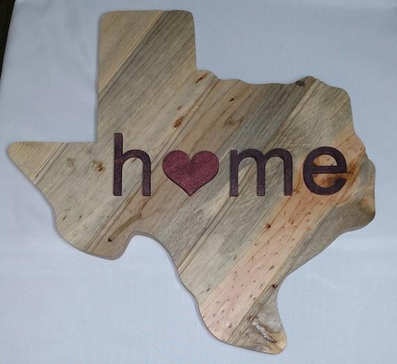 Texas Home Decor: Texas Wood Sign Texas Home Decor Texas Rustic Art Texas
