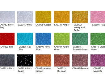 2-Sided Holographic Glittering Sheet - Holographic Golden PG2100H PMMA Acrylic .118 3.0mm Thickness