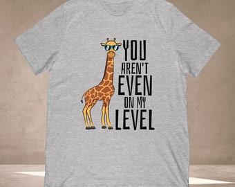 You Aren/'t Even On My Level Men Women Long Short Sleeve Baseball T Shirt 1524