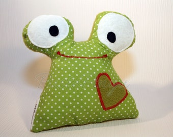 Cuddly toy * Frog * Cuddly pillow