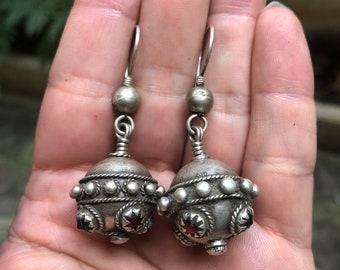 FleißIg Vintage Kuchi Silber Ohrringe Sterling Silber Afghanistan Uhren & Schmuck