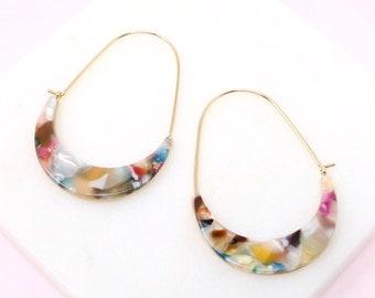 Earring- Acetate / Resin