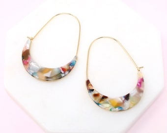 Earring- Acetate / Resin