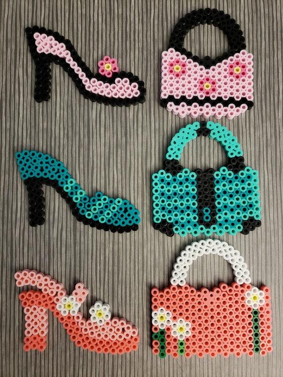 Perler Beads Shoe  Pegboard NEW