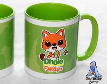 Dhole Whip Mugs (version 2)