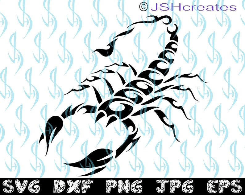 a9fcf1f00 Scorpion SVG Scorpion SVG Scorpion Clipart Scorpion Files   Etsy