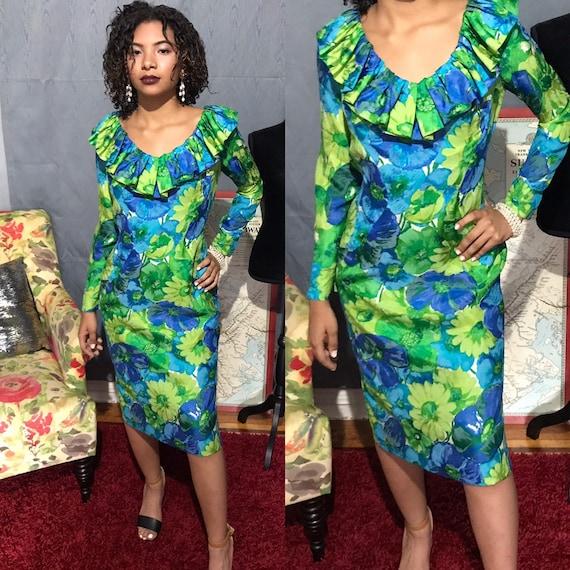 1960s dress/ Vintage 1960s  giggle dress