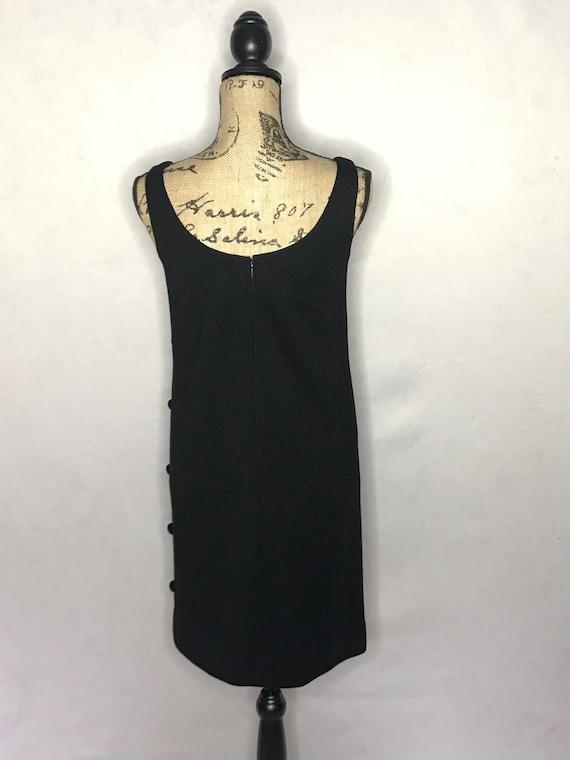 1960s mod dress/ vintage 1960s mod LBD - image 5
