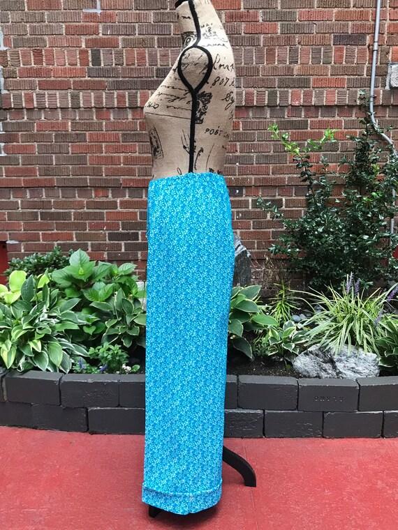 Vintage 1970s knit bell bottom/ flared pants - image 2