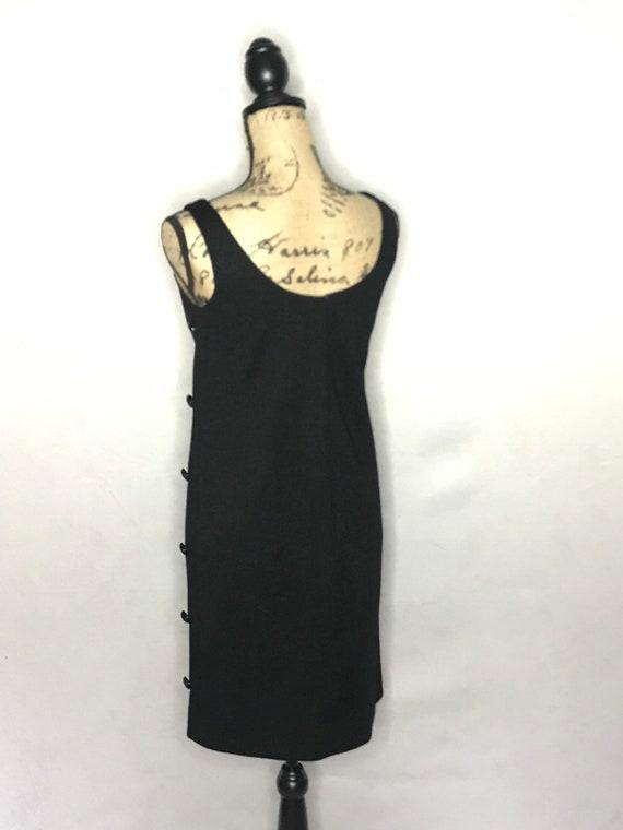 1960s mod dress/ vintage 1960s mod LBD - image 8