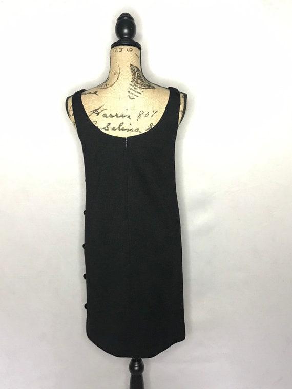 1960s mod dress/ vintage 1960s mod LBD - image 7
