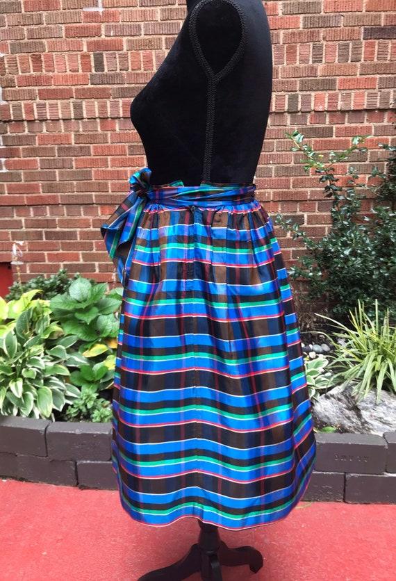 1950s skirt/ Vintage 1950s tartan skirt - image 3