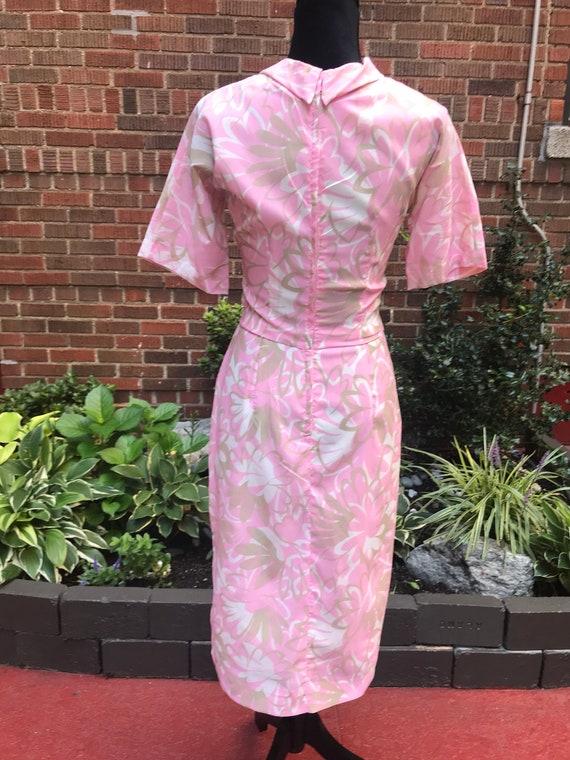Vintage 1960s floral dress. - image 8