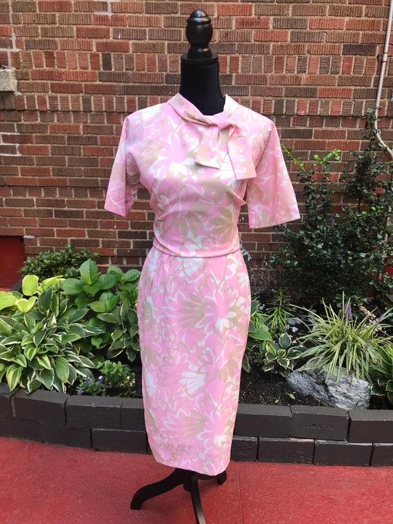 Vintage 1960s floral dress. - image 6