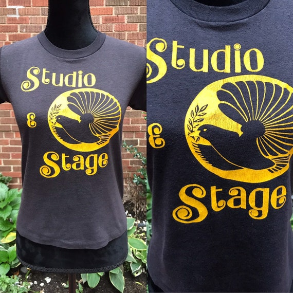 1980s T-shirt/ Vintage 1980s graphic t-shirt