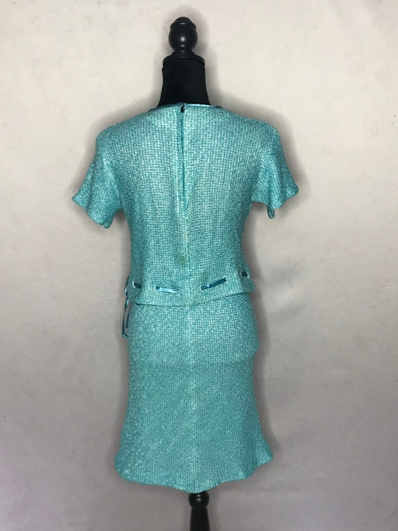 1960s knit set/ vintage 1960s tweed knit set. - image 10