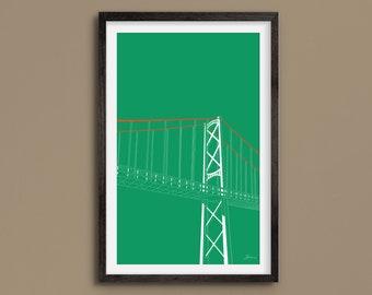Macdonald Bridge - Nova Scotia - Halifax - Dartmouth - Fine Art Print