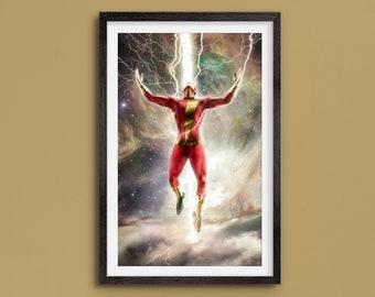 Shazam! - Cosmos Series - Limited Art Print