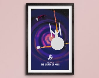 Star Trek: The Wrath of Khan - Poster Art