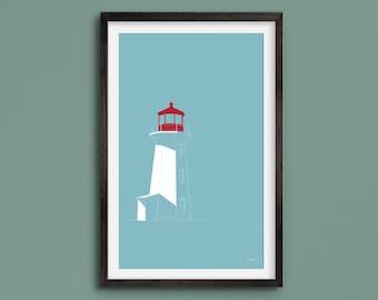 Peggy's Cove - Nova Scotia Lighthouse - Fine Art Print