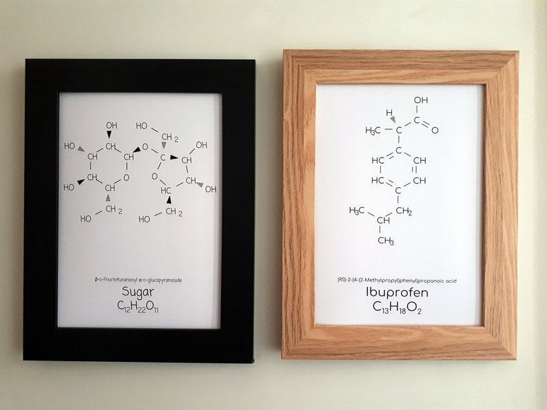 Customizable Chemical Formula Print Kitchen Cleaning Human image 0