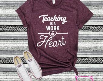 b92158d623b Teacher shirt