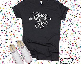 15d5cfc69 Inspirational Shirt, Choose Kind Shirt, Kindness Shirts, Spread Kindness  Shirt, Unisex Graphic Tees, Inspirational Tshirt, Womens Shirts