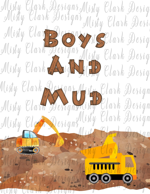 Boys and Mud