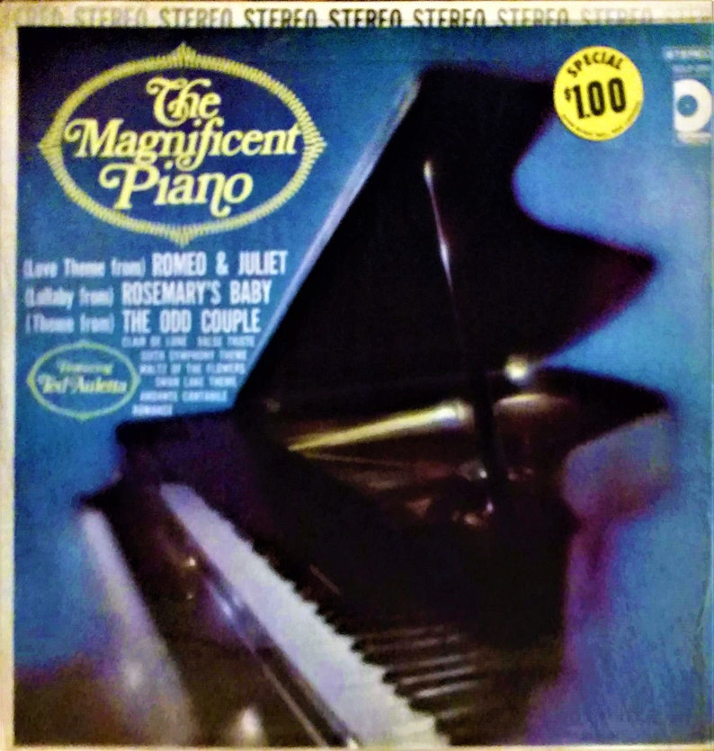 Ted Auletta - The Magnificent Piano (LP)