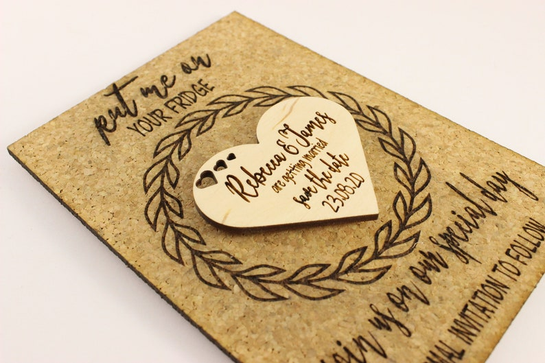 cards Personalised save the date Custom save the dates Rustic Save the date magnets Save the date magnet Save the date ideas
