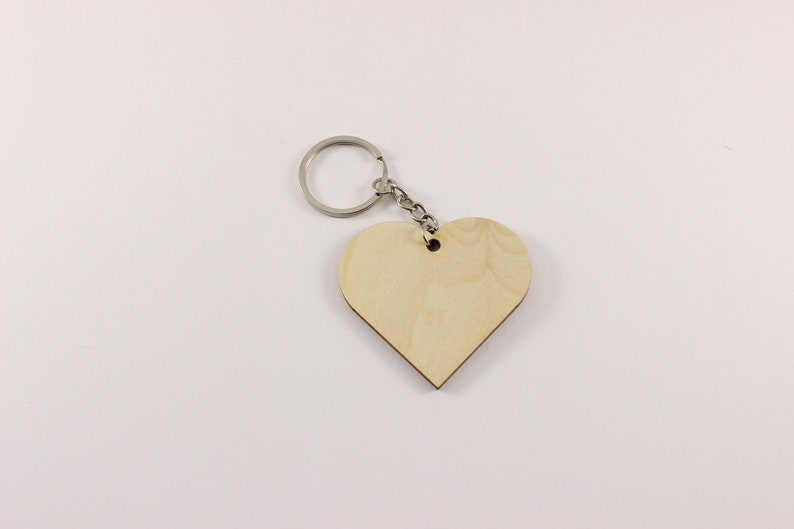 Heart key chain | Blank keychain | Plywood keychain | DIY keychains | Heart  key chains | Heart keychains | Plywood keychains