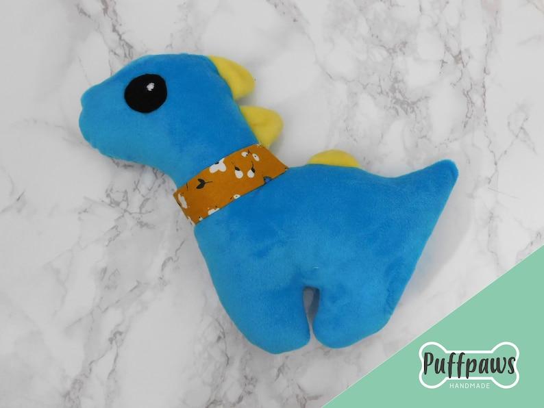Puffpaws Dinosaur Dog Plush