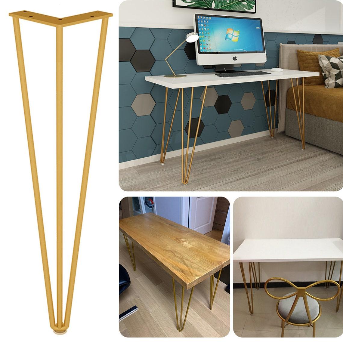 Dine  Bar Metal Table Legs  Iron Room Furniture Dine Leg 4pcs Gambe Tavolo Ferro Pata Mesa Custom table legs