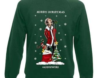 8e1a2e900ec Liam Gallagher As You Were Christmas Jumper