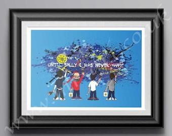 The Stone Roses Sally Cinnamon Print